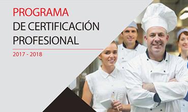 Programa de certificación profesional 2019