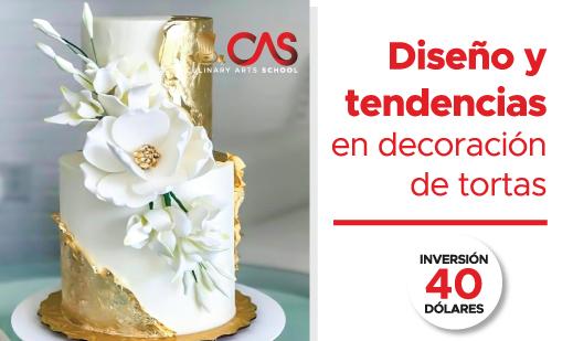 DISEÑO Y TENDENCIAS EN DECORACIÓN DE TORTAS