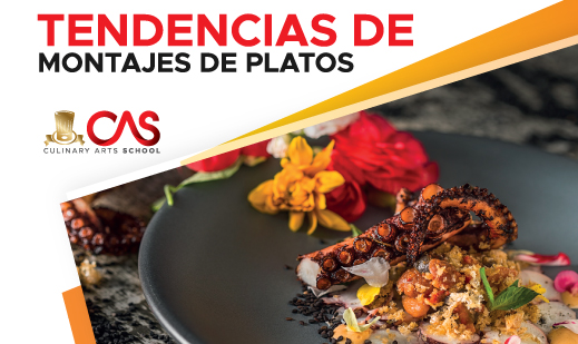TENDENCIAS DE MONTAJES DE PLATOS